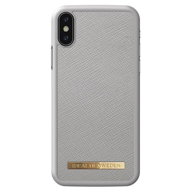iDeal of Sweden iDeal of Sweden - iPhone XS / X Hülle - Fashion Case Saffiano - hellgrau