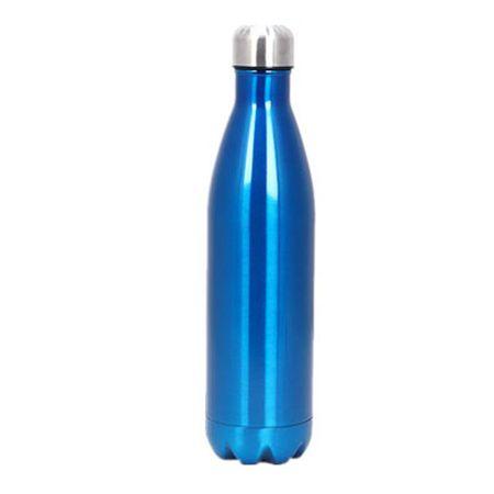 MU Style - Trinkflasche aus Edelstahl (500ml) - wiederverwendbar & nachhaltig - Blau