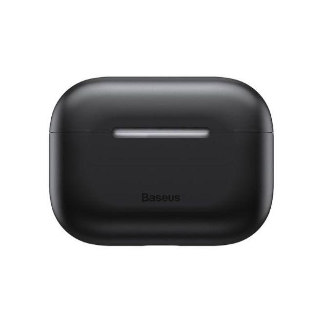 Baseus Baseus - Ultradünne Schutzhülle für AirPods Pro - Case aus Silikon Gel - schwarz