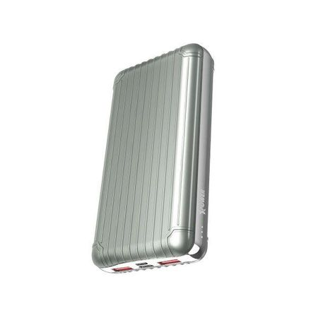 XPower - Powerbank - PD/PPS/QC4+/SCP - 20000mAh 55W - PD20B - silber