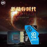 128 GB microSD Speicherkarte Klasse 10 - High Speed Card - blau