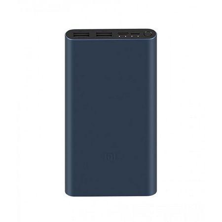 Xiaomi - Mi Powerbank 3 10000mAh - Externer Akku mit 18W Schnellladung - anthrazit