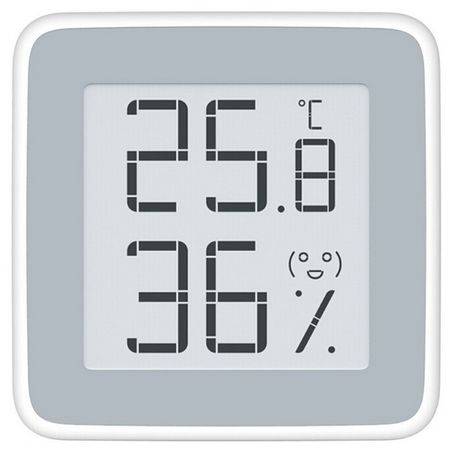 Xiaomi - Digitales E-Ink Thermometer / Hygrometer 0°C bis 60°C - Weiss