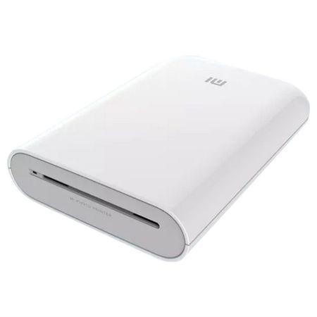 Xiaomi - Mi Portable Photo Printer -  Zero Ink - Apple MFi zertifiziert, iOS & Android Mi Home App, Bluetooth