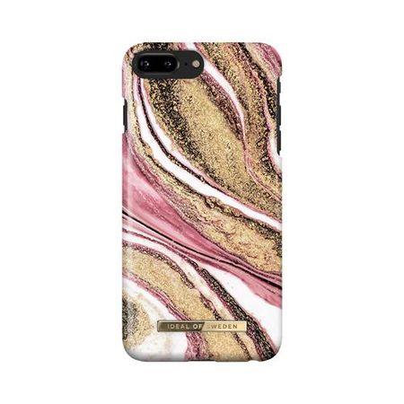 iDeal of Sweden - iPhone 8 Plus / 7 Plus / 6S Plus / 6 Plus Hülle, Designer Case Cosmic Pink Swirl - mehrfarbig