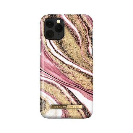 iDeal of Sweden - iPhone 11 Pro / XS / X Hülle, Designer Case Cosmic Pink Swirl - mehrfarbig