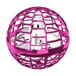 Flynova Pro - Crazy Bumerang UFO Spinner - Quadrocopter Ufo - Spielzeug mit LED Licht - pink