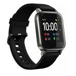 Haylou - Smart Watch 2 - Fitness Tracker mit 12 versch. Sportmodis, spritzwasserfest - schwarz